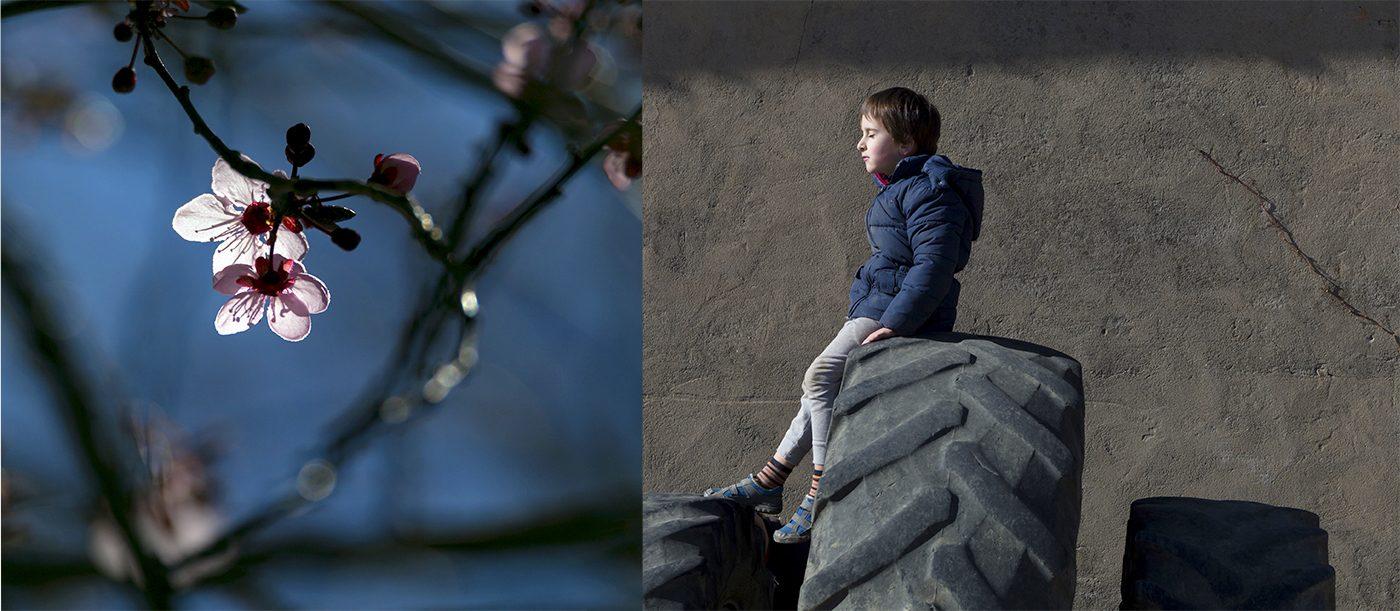 Fotografa de ninyos y bebes Graus Huesca.